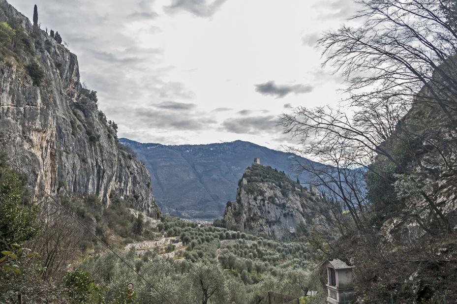 mountains arco lake garda
