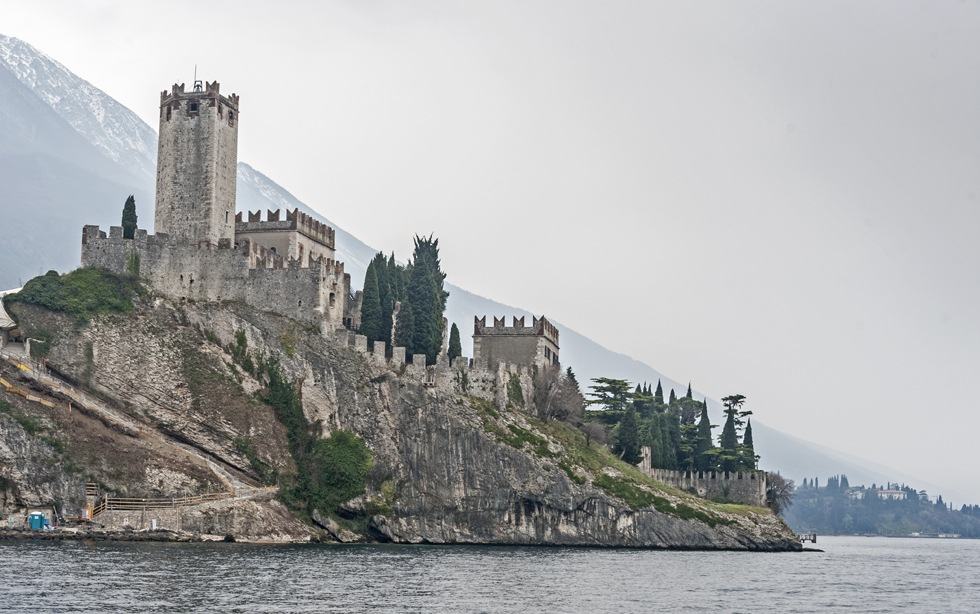 malcesine castle lake garda