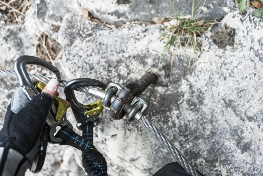 via ferrata clips adventures lake garda