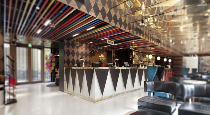 The circus-themed Scandic Hotel Paasi