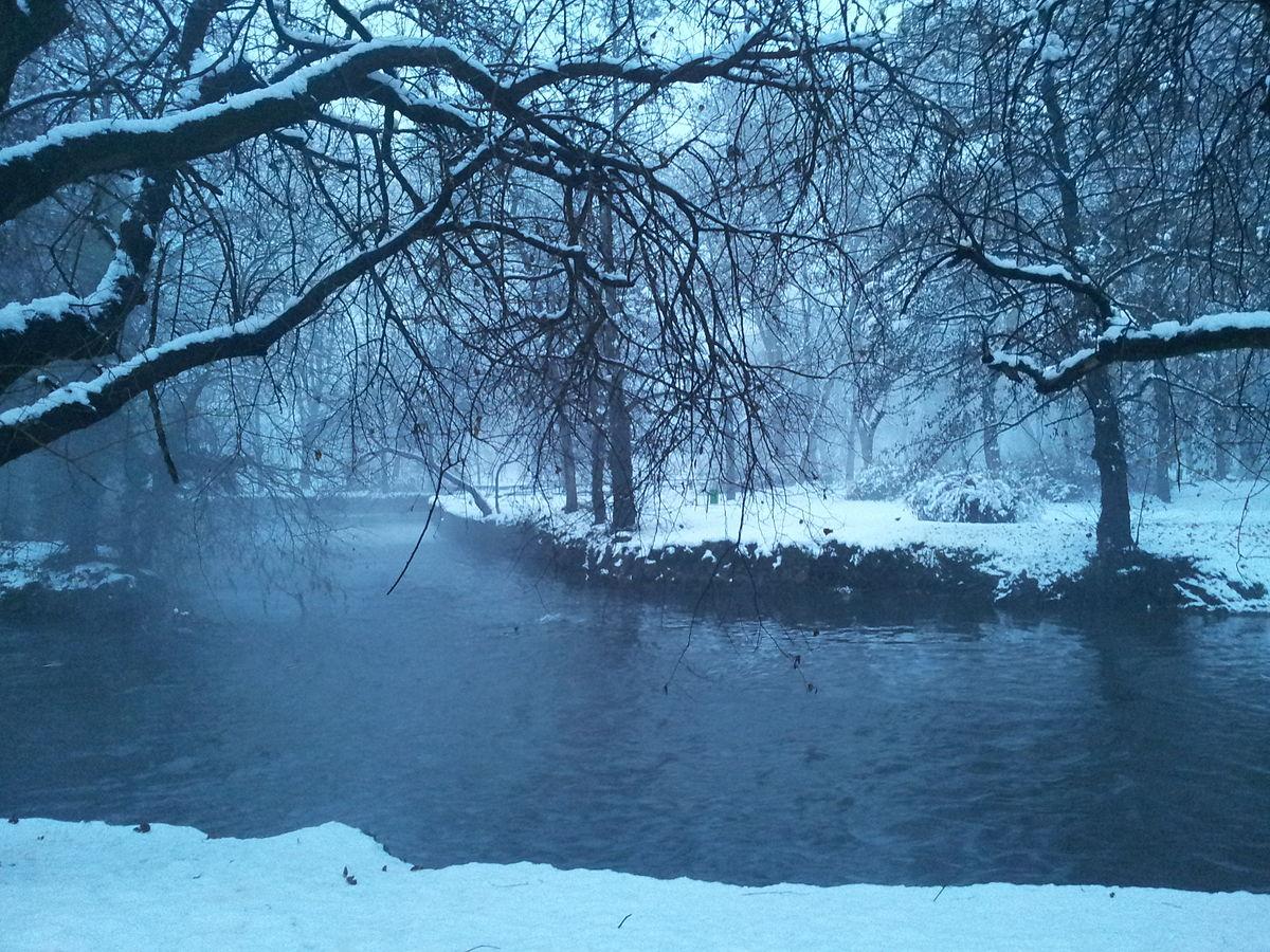 parco lambro in the snow