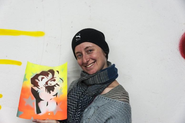 alternative berlin street art tour stencil