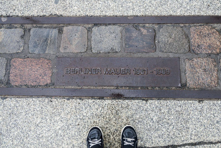 berlin wall bricks