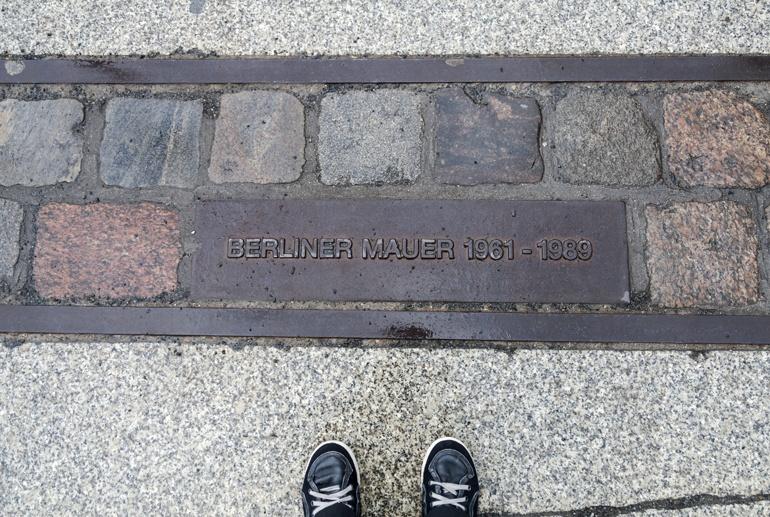 berlin wall bricks