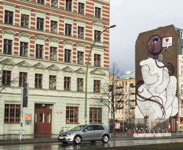 berlin street art I love berlin
