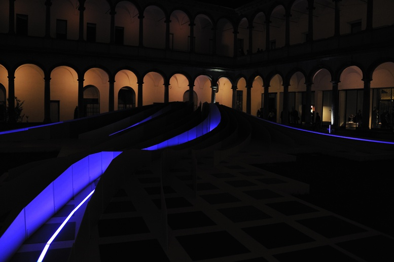 statale cloisters at night