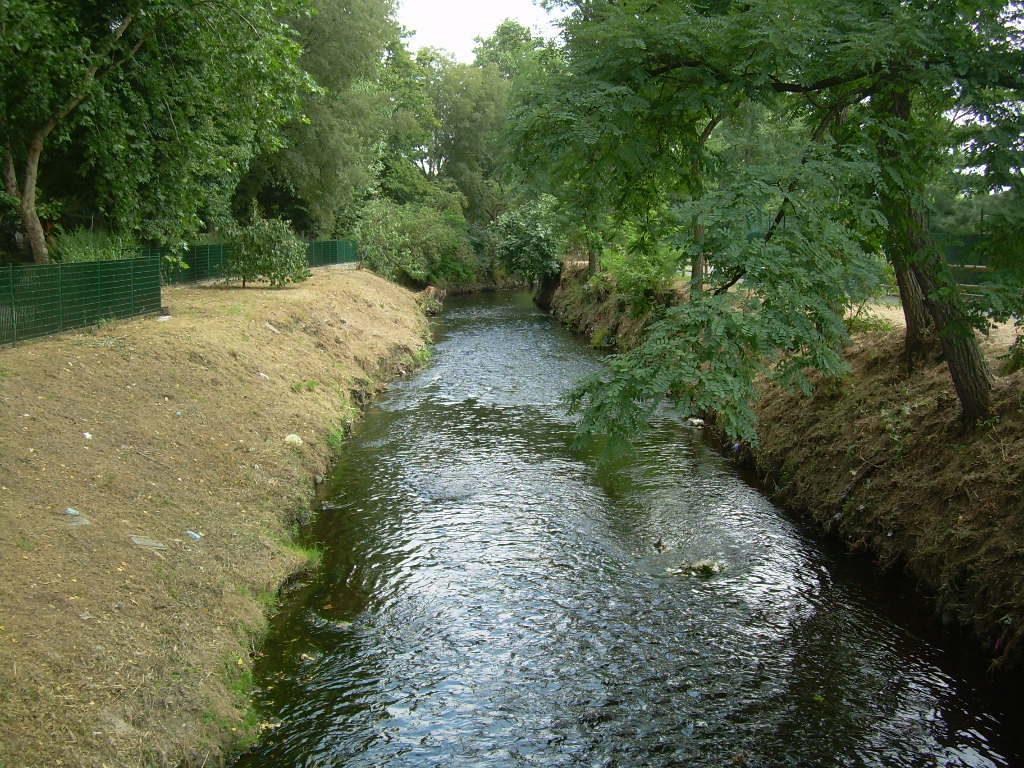 Seveso river parco nord