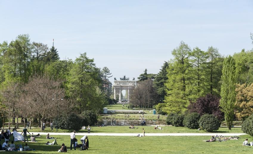 best parks in milan parco sempione