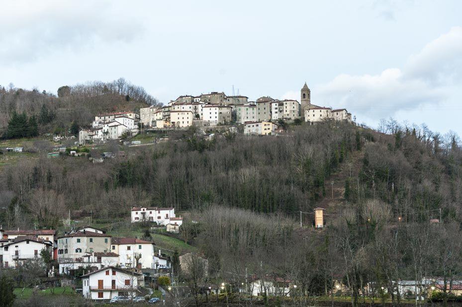 cutigliano view tuscany