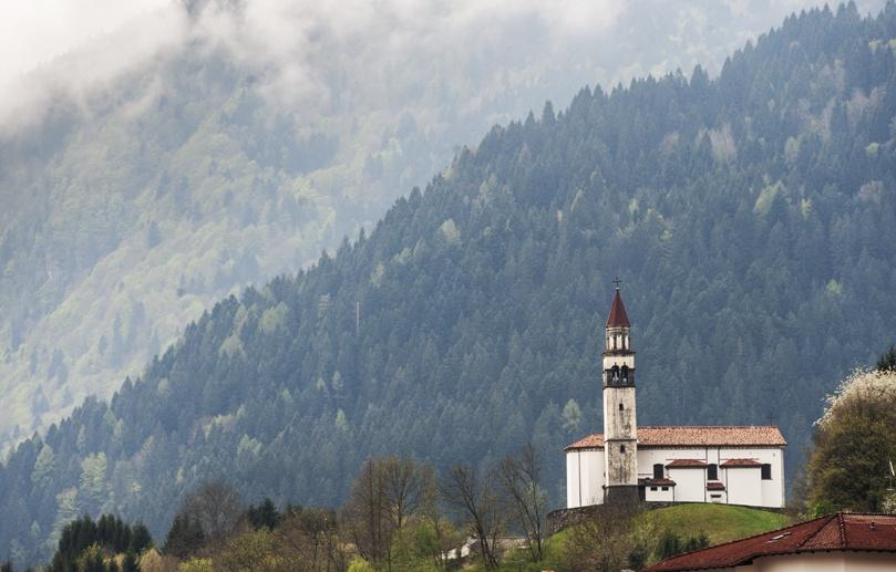 mountain church friuli