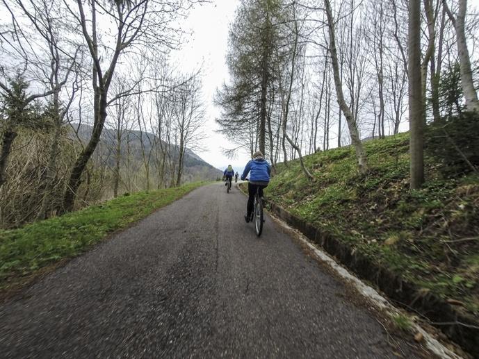 cycling carnic alps