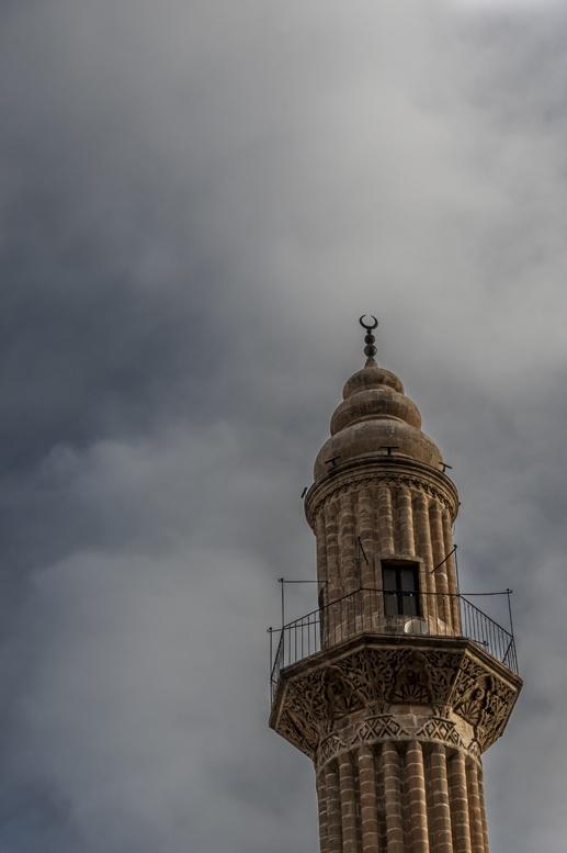 minaret clouds