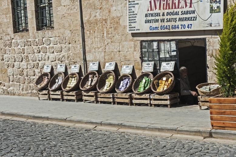 mardin turkey soap shops