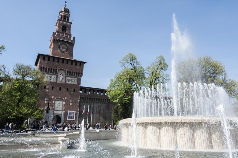things to do in Milan castello sforzesco