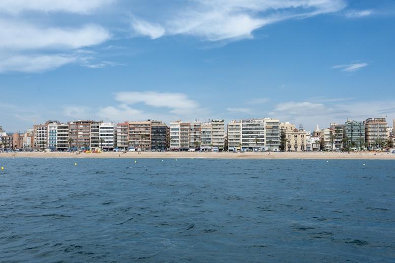 lloret de mar skyline
