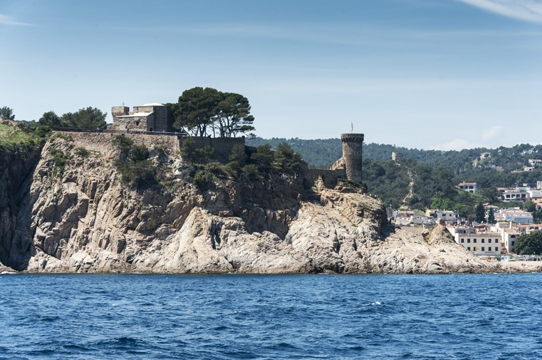 costa brava castles tossa de mar