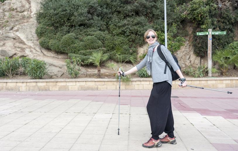 nordic walking costa brava