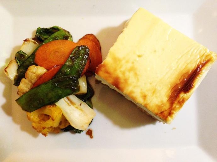 vegetarian cheesecake milan