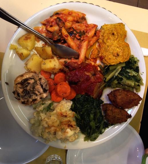 vegetarian platter milan