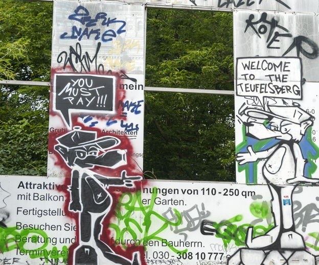 teufelsberg graffiti