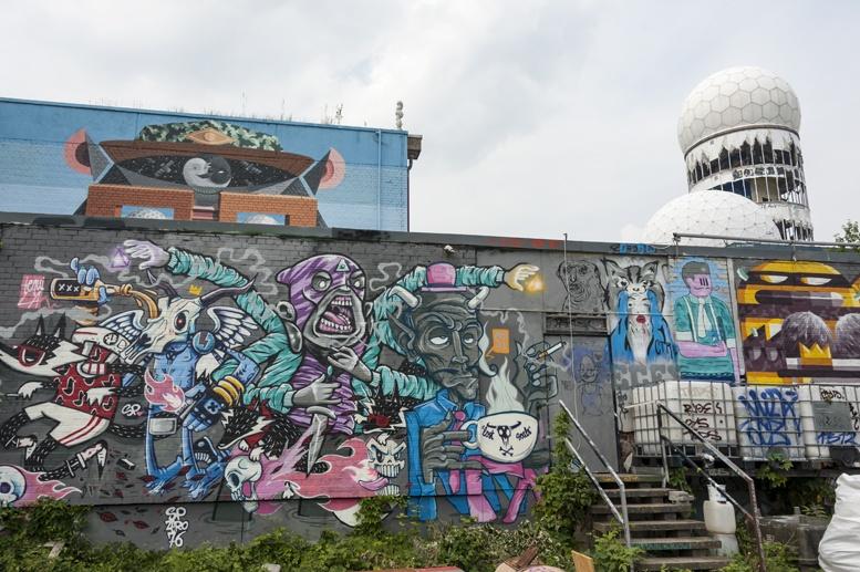 teufelsberg street art