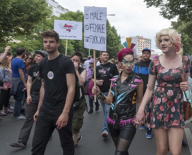Berlin CSD pansexual