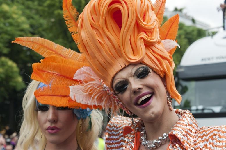 Berlin gay pride orange queen