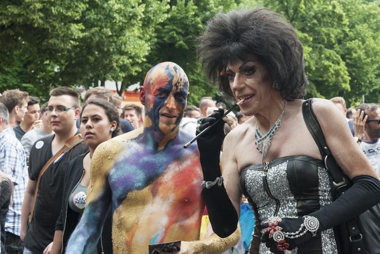 CSD Berlin weird couple