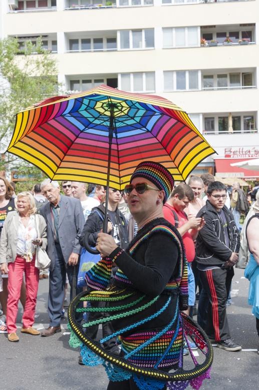 berlin gay pride rainbow swirl