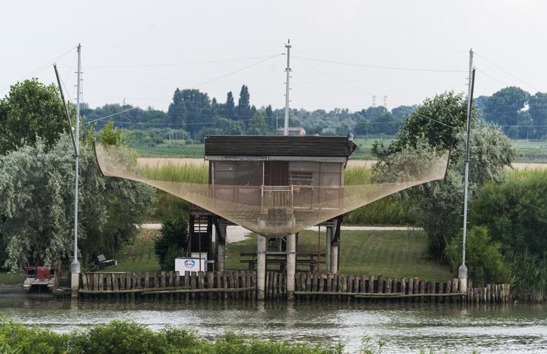 fishing hut close delta po