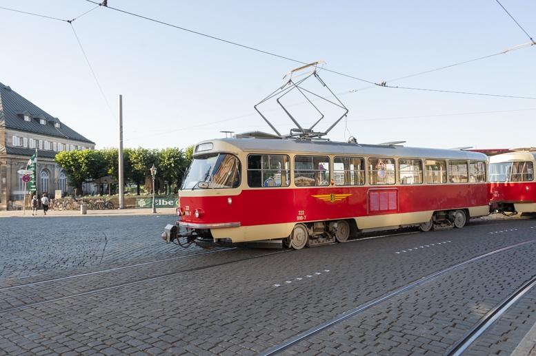 dresden vintage tram