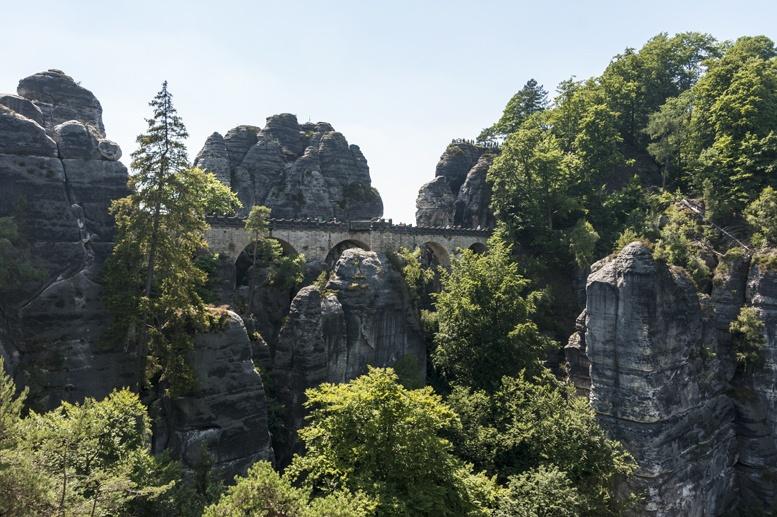 saxon switzerland bastei bridge