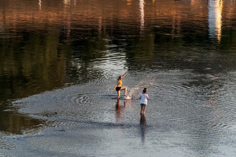 dresden elbe swimming