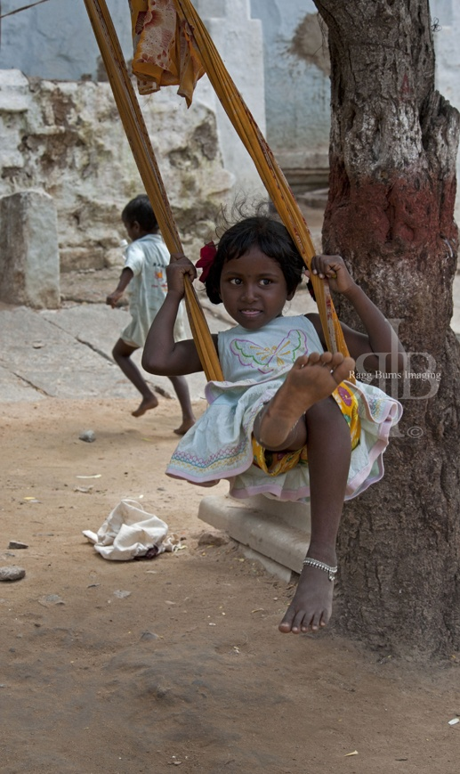 Hampi swing girl