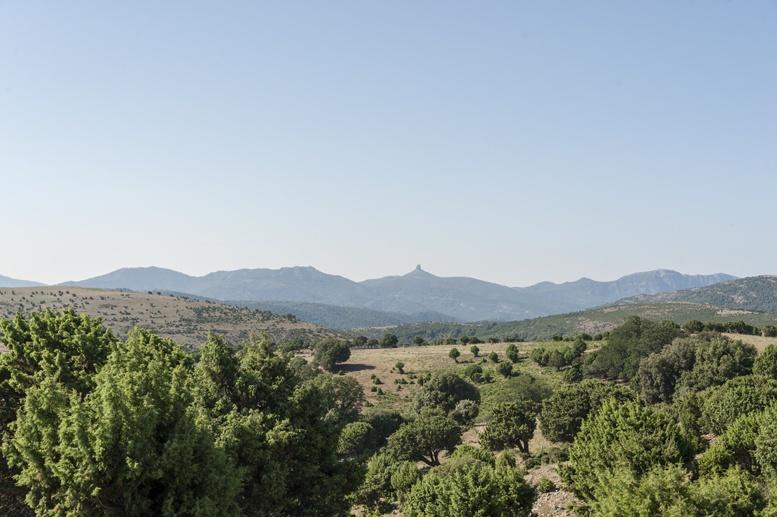 sardinian mountains ogliastra
