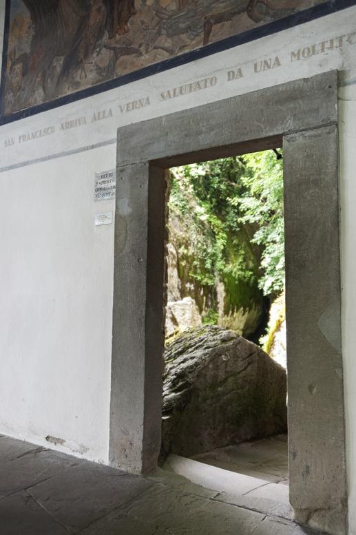Doorway to Francis's bedroom