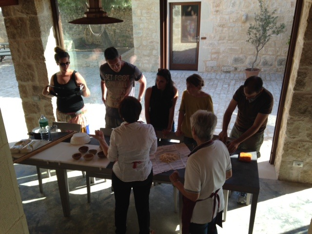 cooking class sicily group