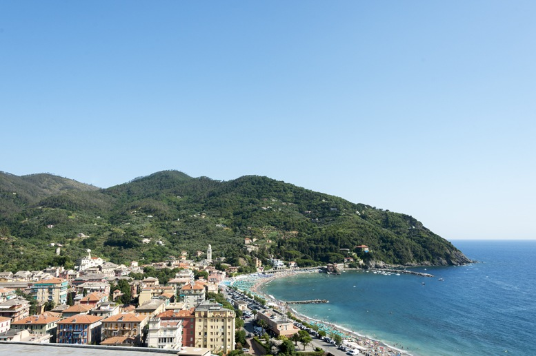 levanto view from hills
