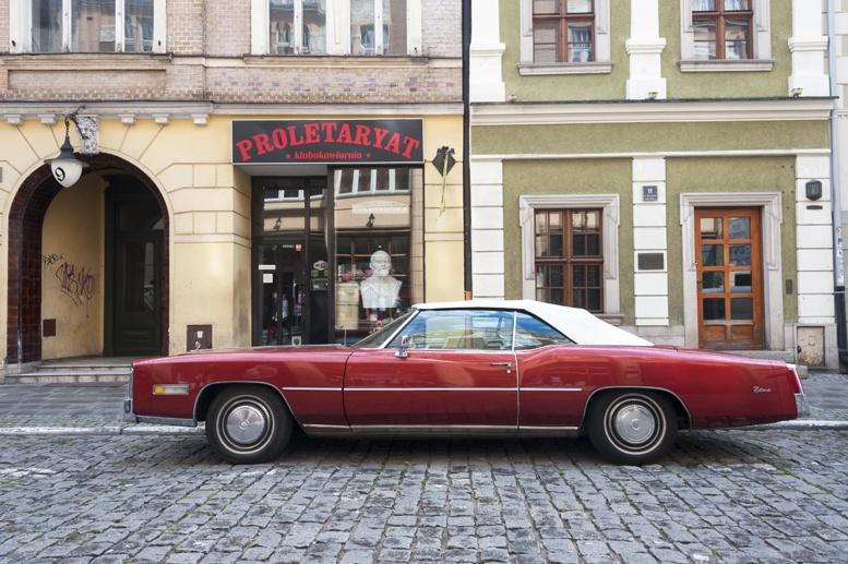Poznan retro socialist bar car