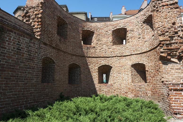poznan city walls
