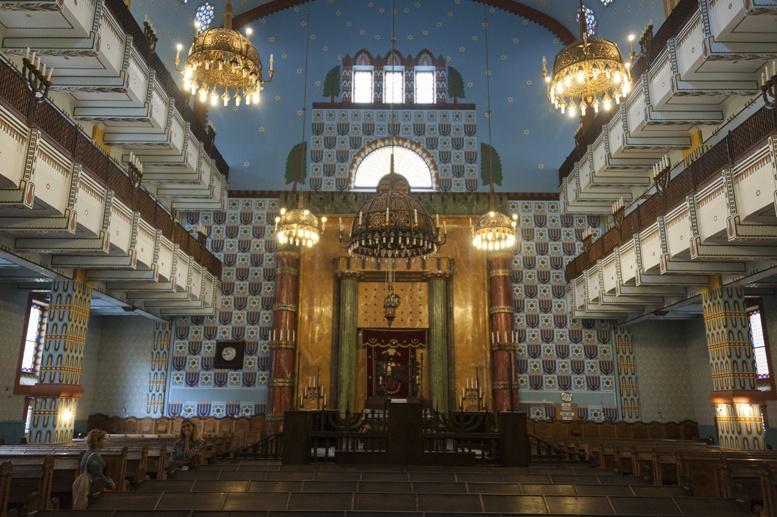 orthodox synagogue inside