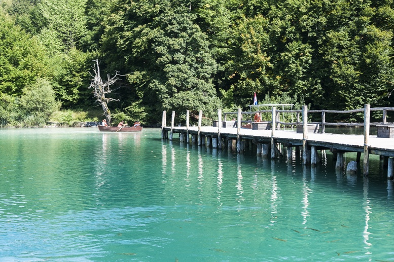 plitvice pontoon boat