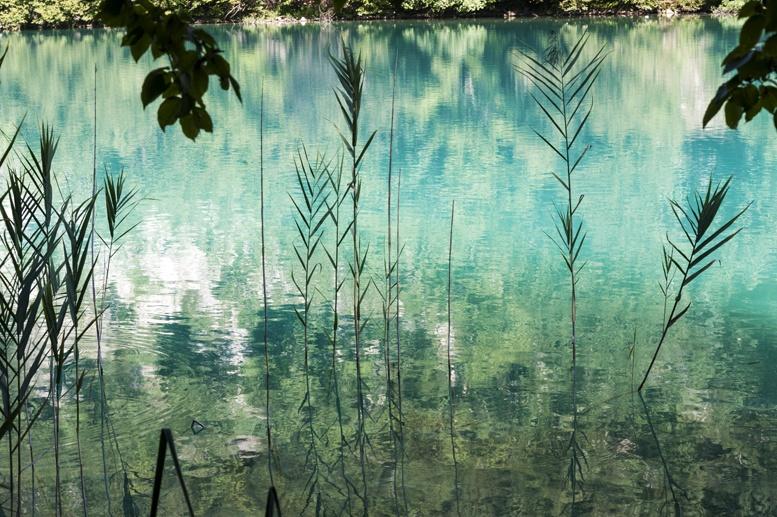 zadar to plitvice lake reflection