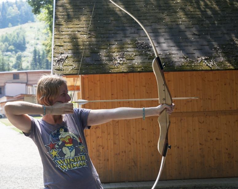 archery lesson czech