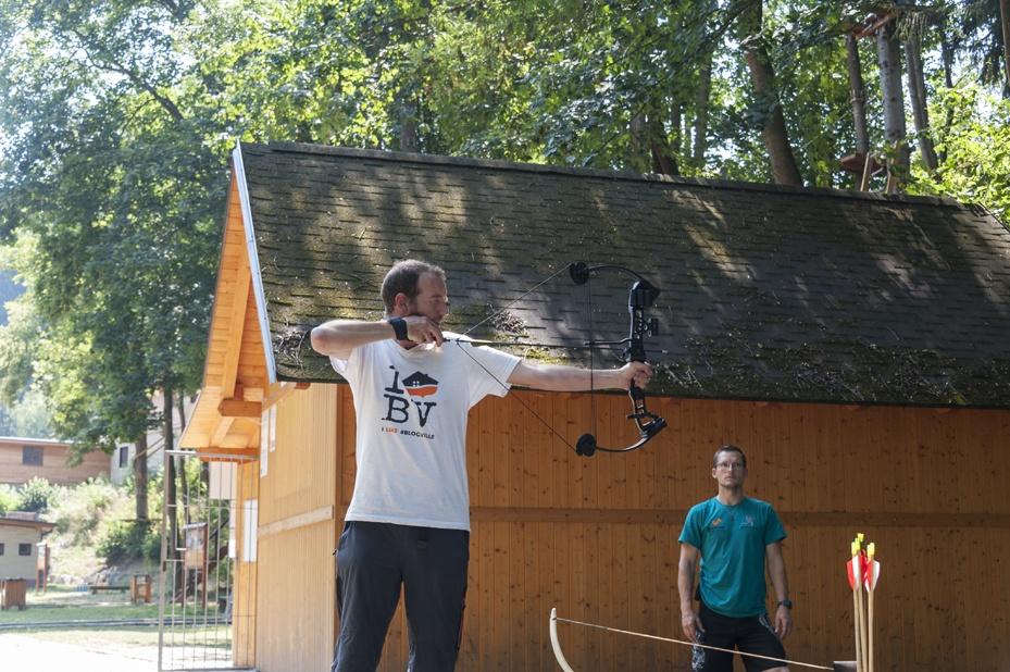 archery lesson bozenov nick
