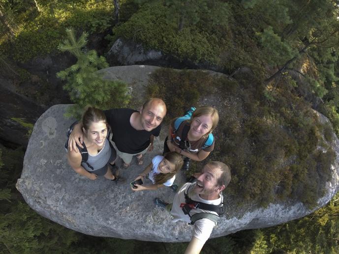 friends selfie czech adventures