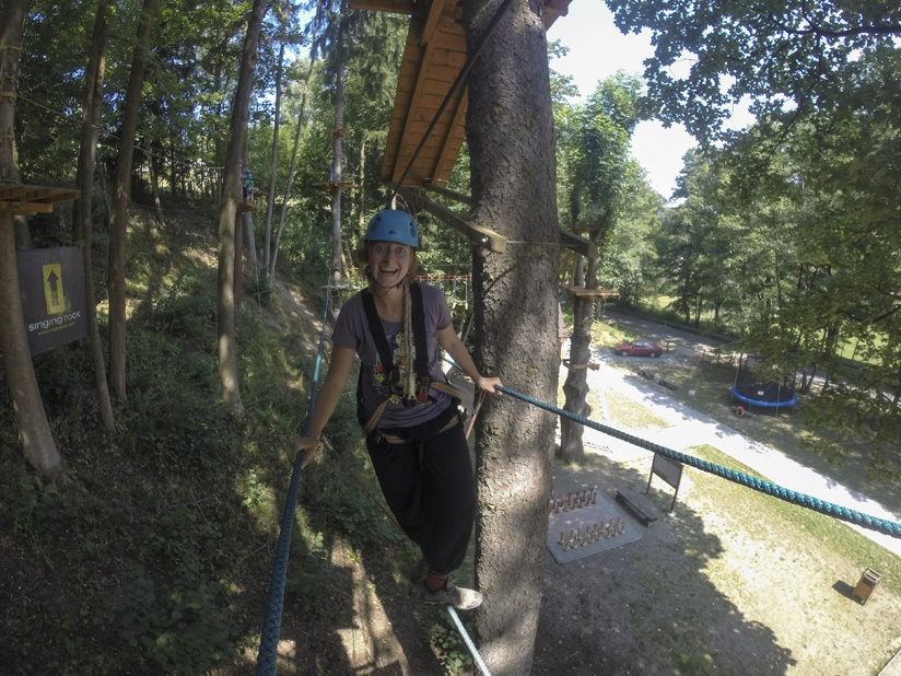 adrenaline park obstacle course