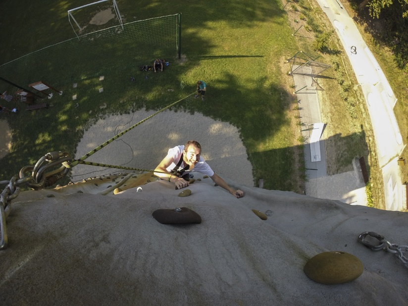 climbing wall bozenov nick
