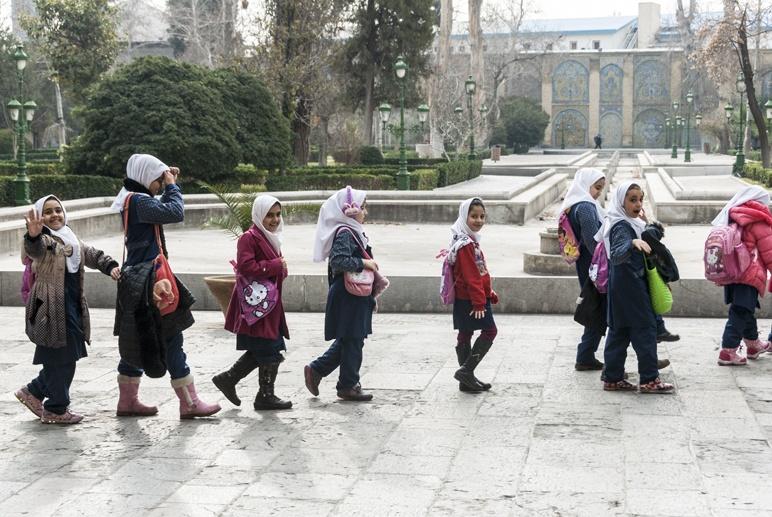 iran tehran schoolgirls