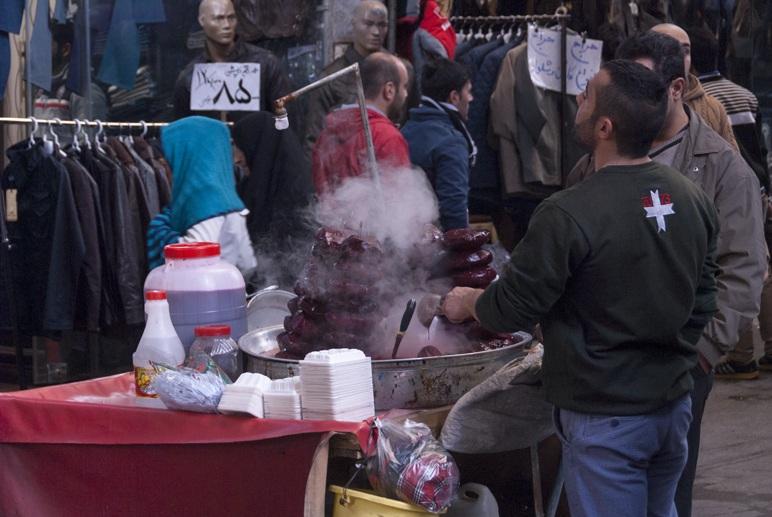 tehran iran street food